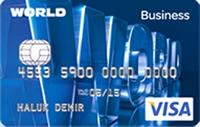 Yapı Kredi World Business Kart kredi kartı görseli.