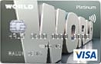 Yapı Kredi World Platinum Kart kredi kartı görseli.