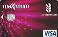 Ziraat Maximum Klasik kredi kartı görseli.