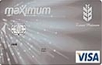 Ziraat Maximum Platinum kredi kartı görseli.
