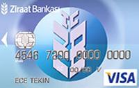 Ziraat Standart Klasik kredi kartı görseli.