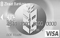 Ziraat Standart Platin kredi kartı görseli.