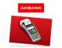 Akbank POS Destek Hattı görseli.