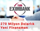 TurkEximbank'a 270 Milyon Dolarlık Yatırım Haber Görseli