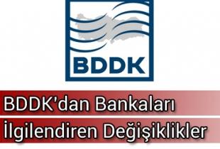 BDDK'nın 5 yönetmelik ve 6 tebliğinde değişiklik yapıldı. Haberi Görseli